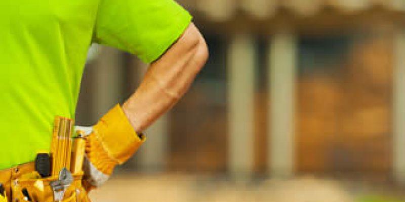 handyman with work belt