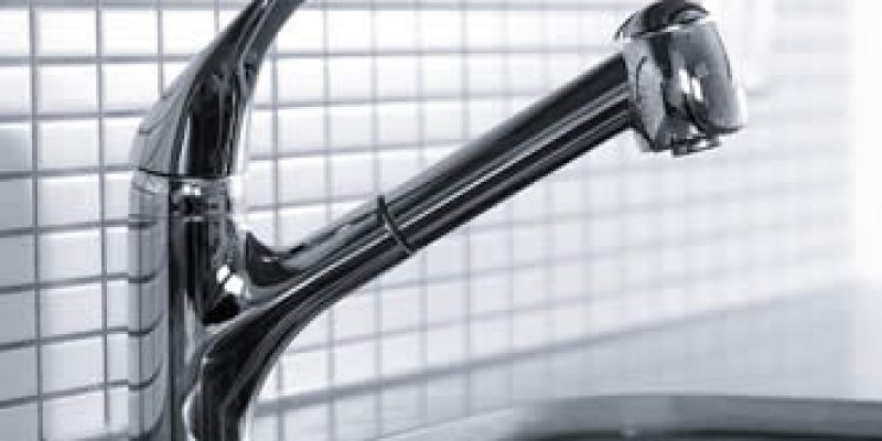 new chrome kitchen faucet