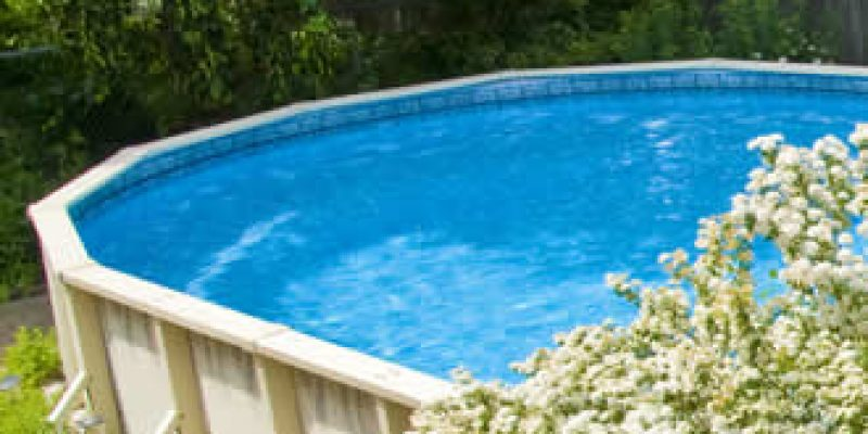 above ground pool
