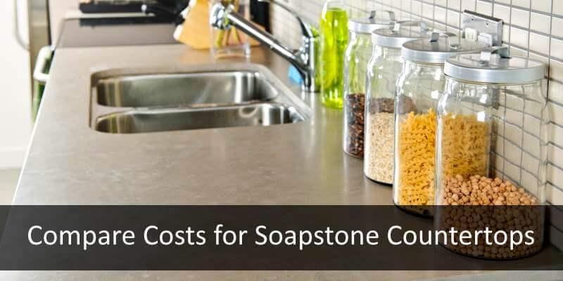 compare soapstone countertop costs and installation