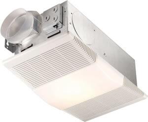 Broan Nutone Bathroom Fan with Light and Heater